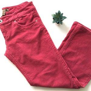 Vintage FOREVER 21 Pink Corduroy Bootcut Pants 13